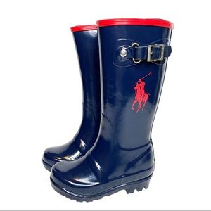 Polo Ralph Lauren Toddler rain boots size 7